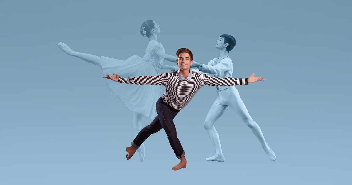 Company Dancer Ryan Vetter, Photo by Rejean Brandt, Styled by Club Monaco