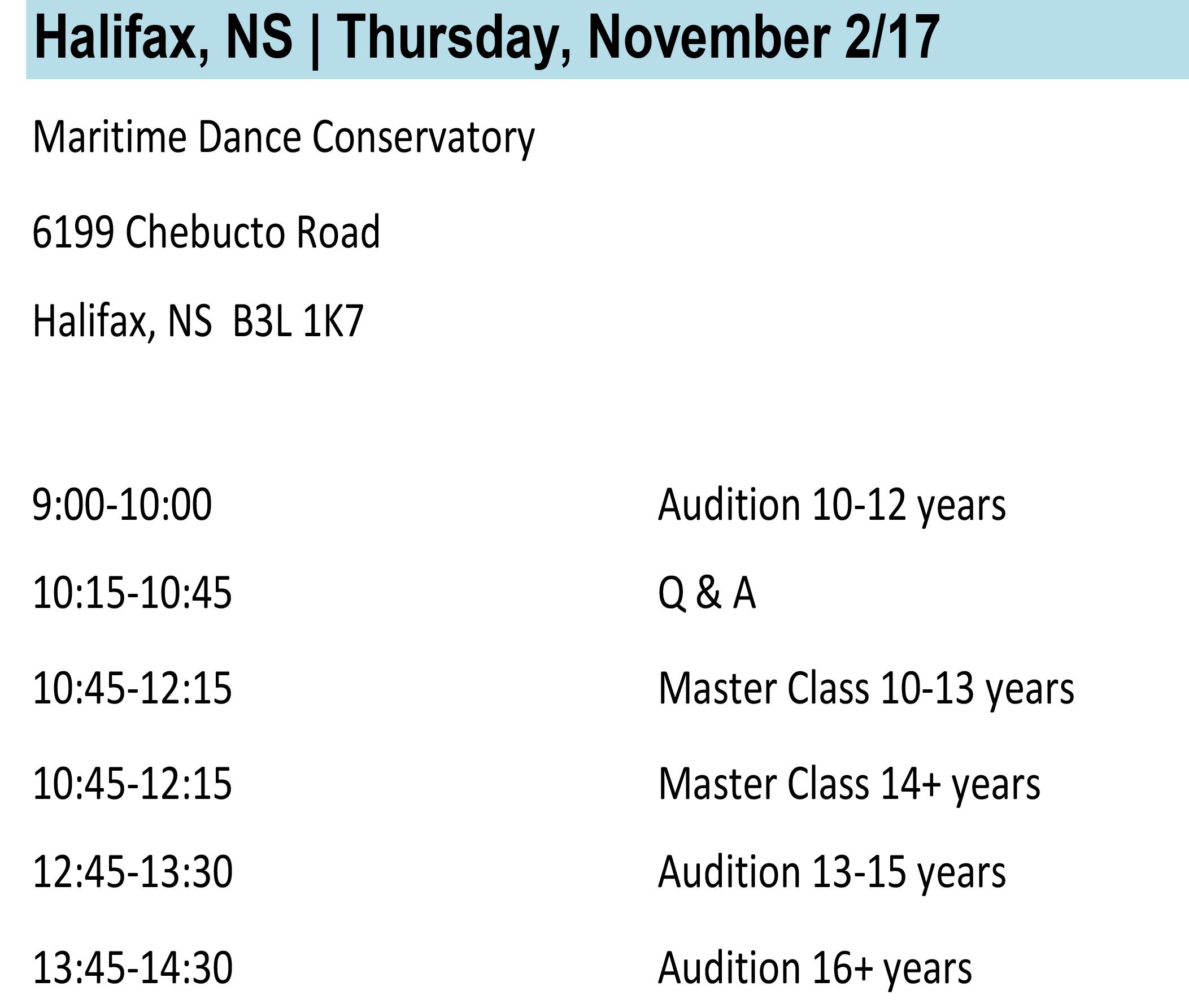Halifax Info