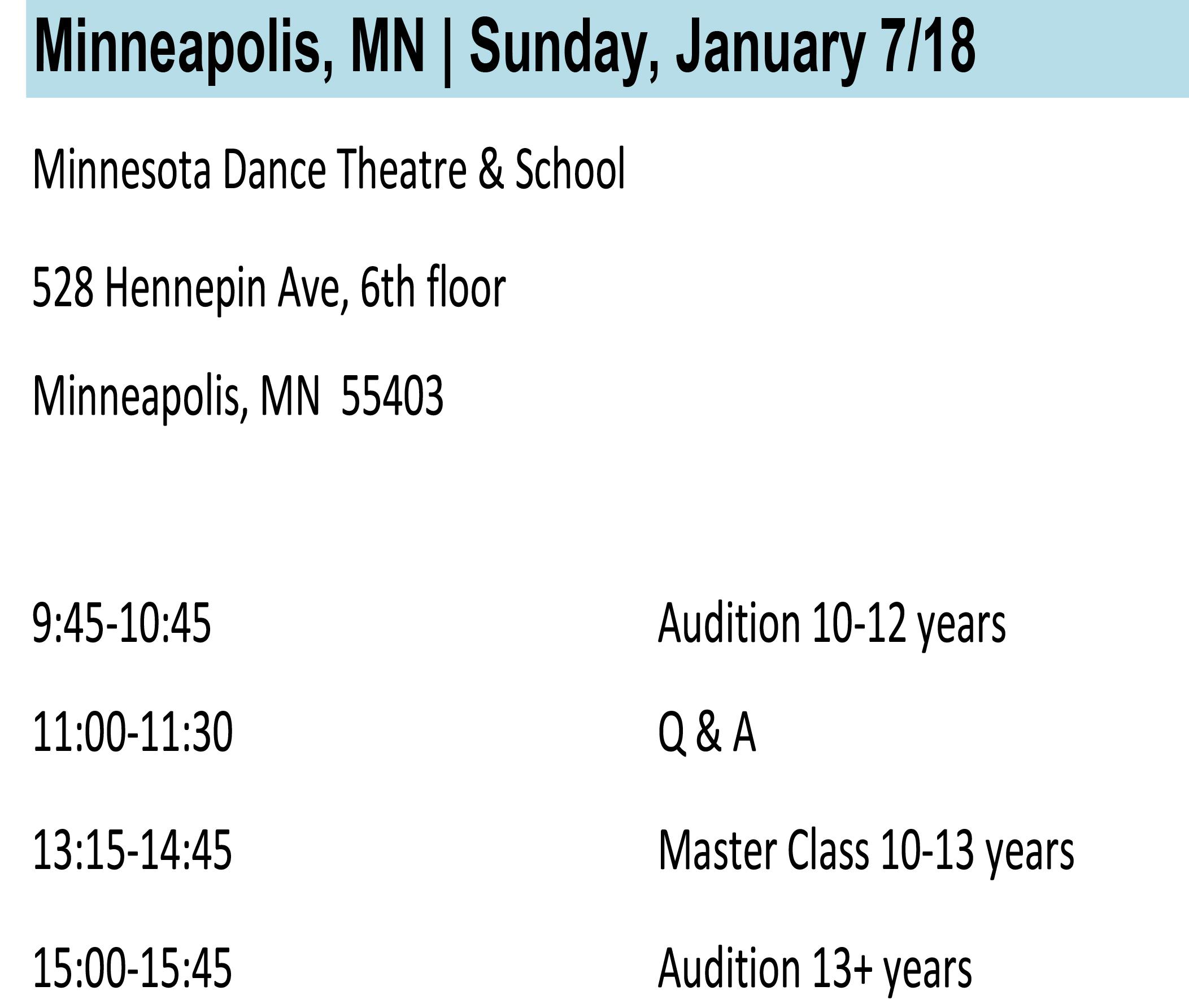 Minneapolis Info