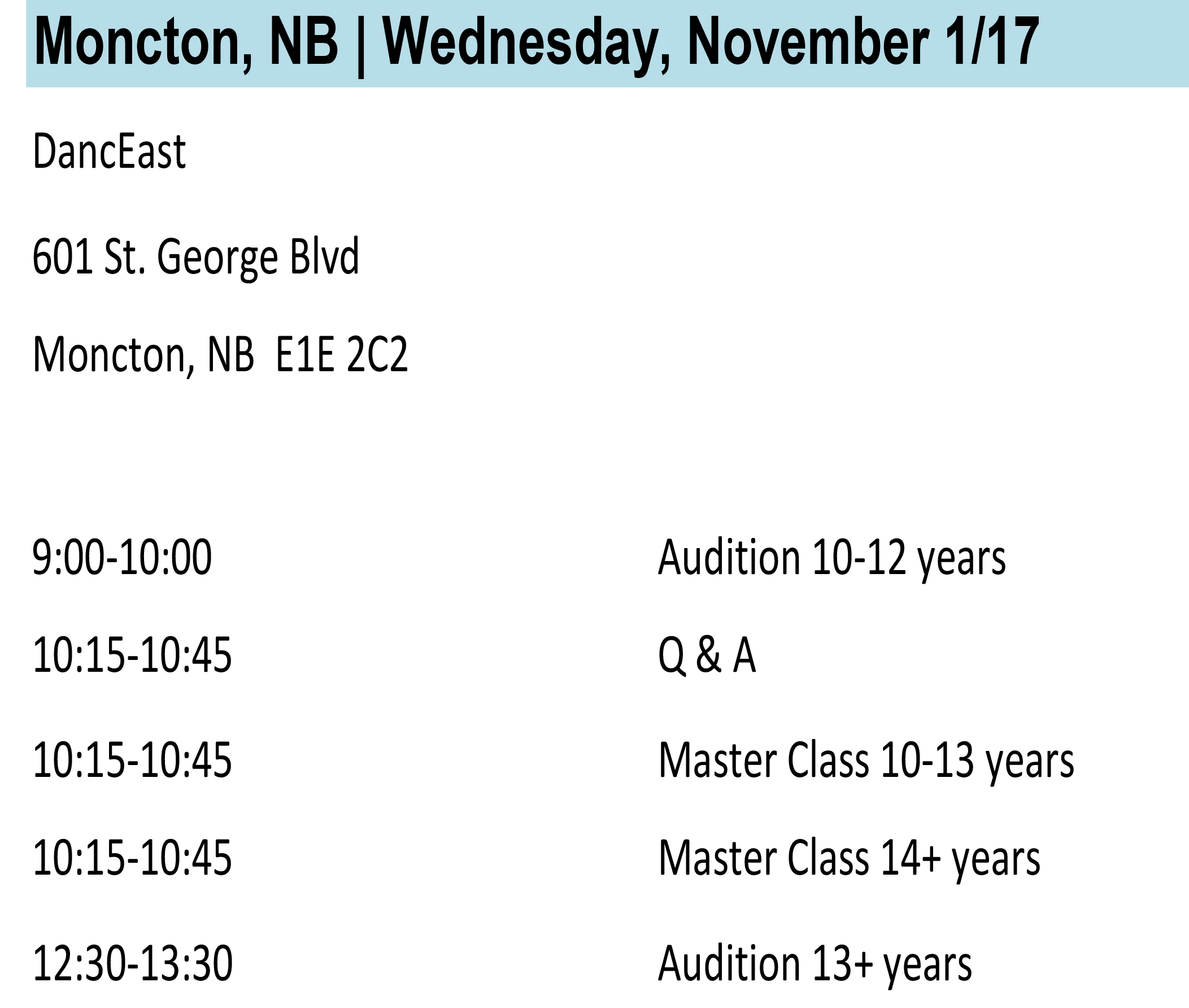 Moncton Info