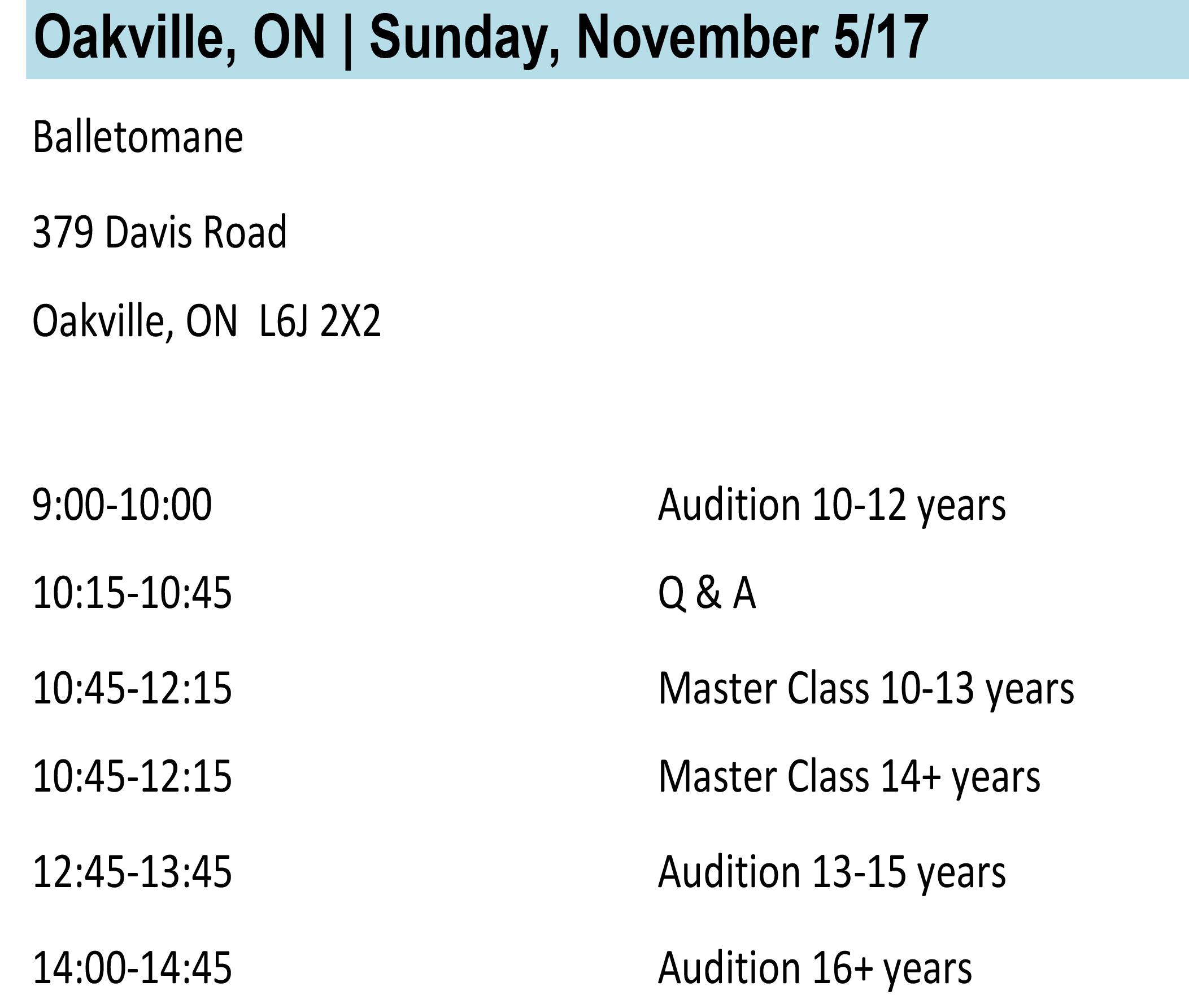 Oakville Info