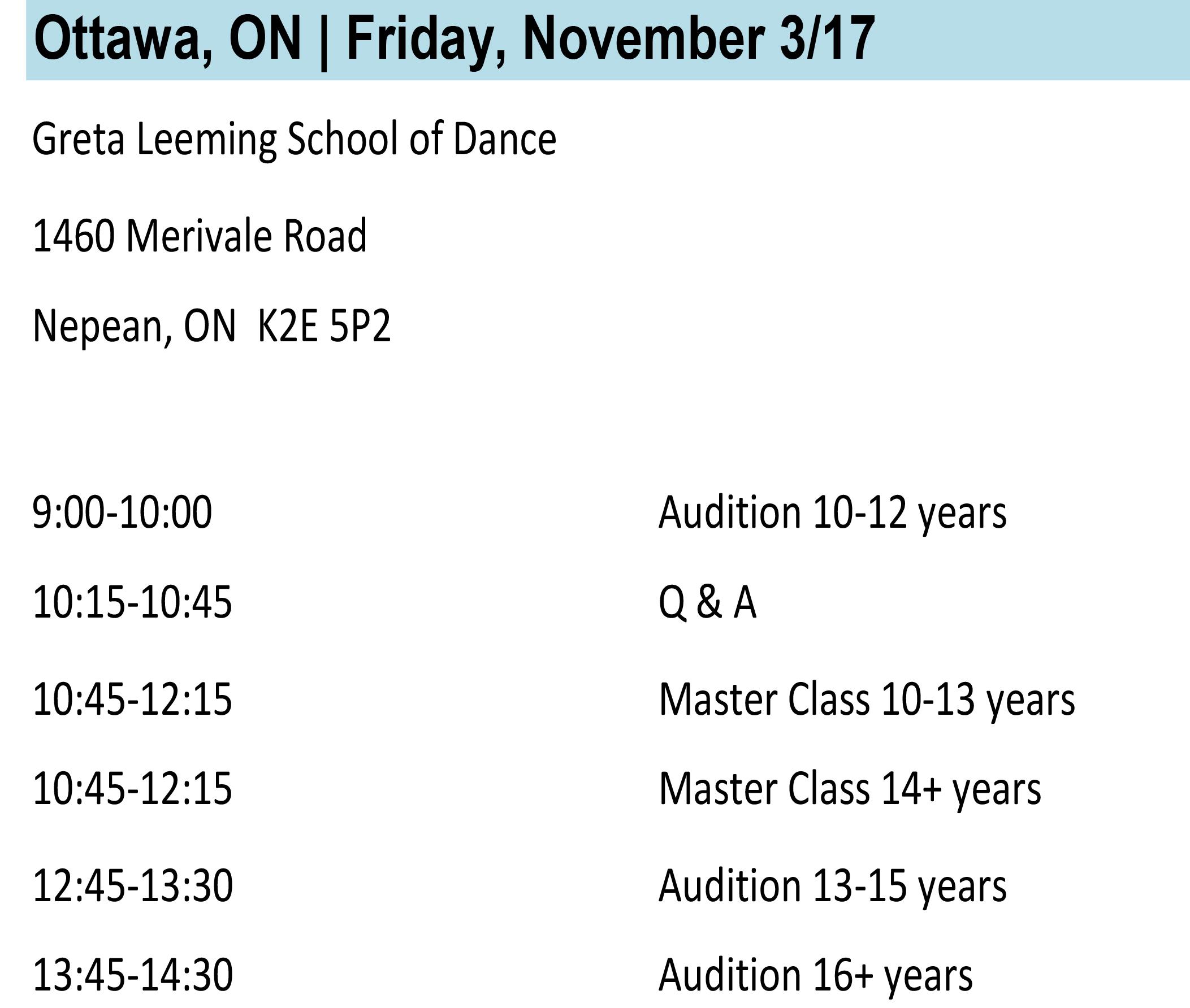 Ottawa Info