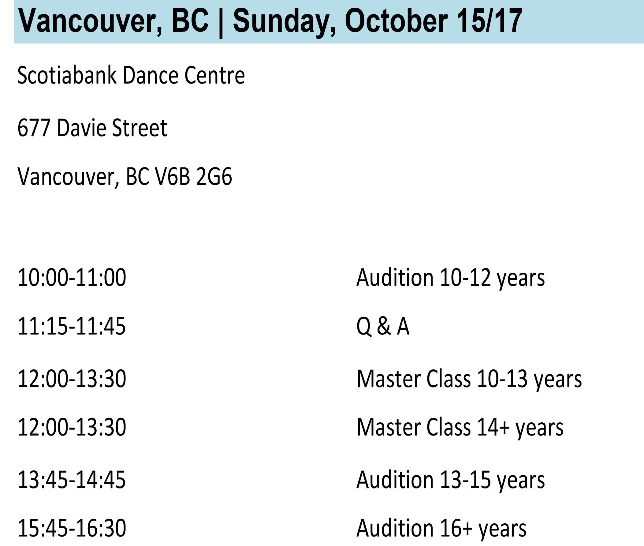 Vancouver Info