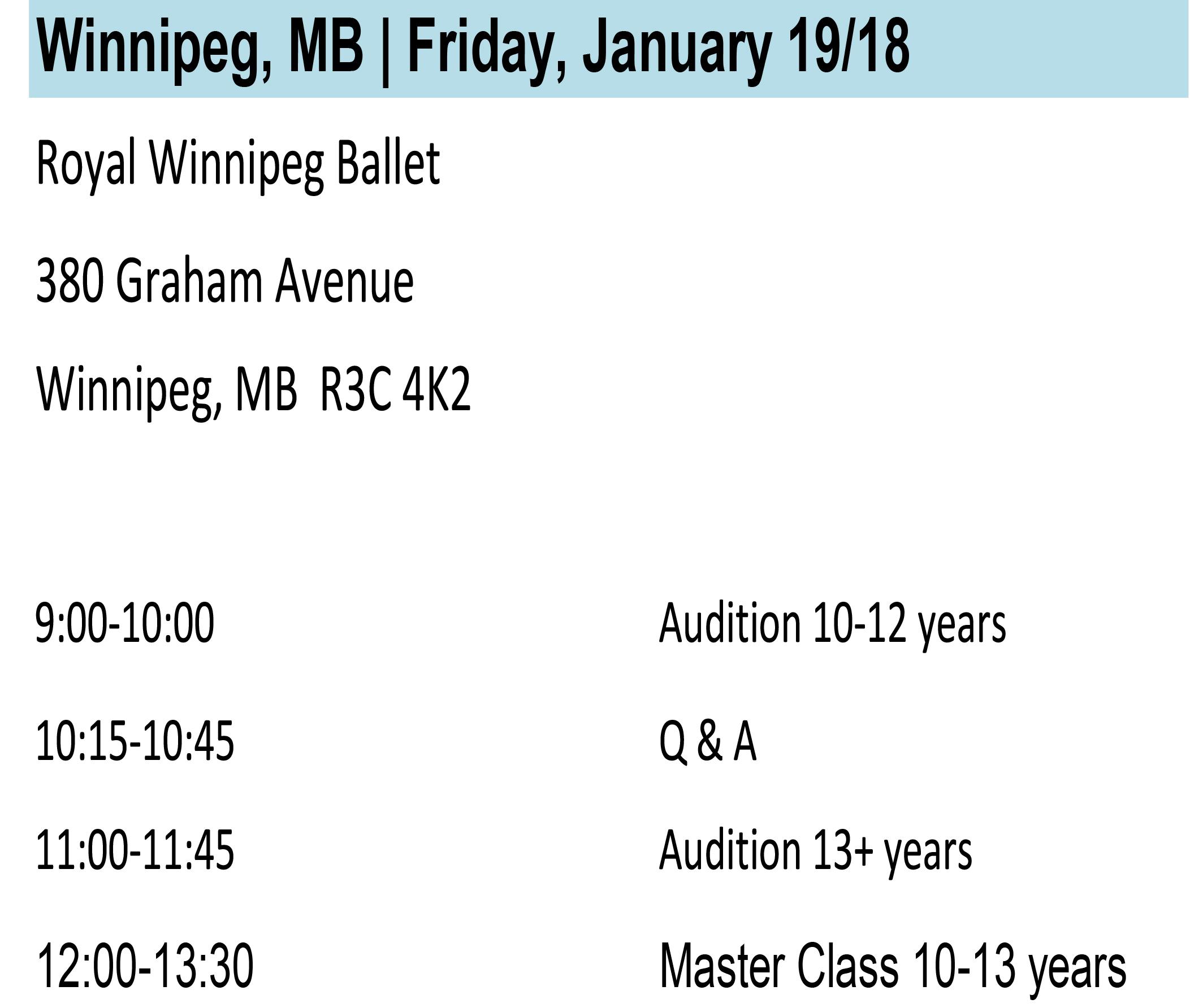 Winnipeg Info