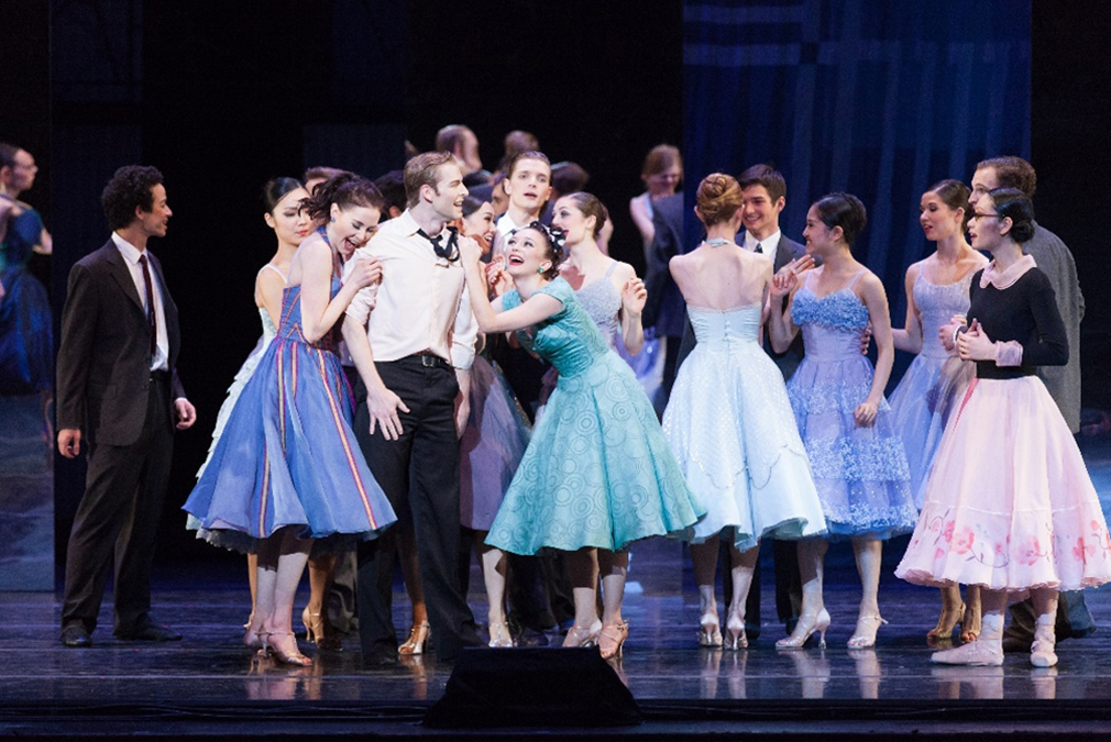 RWB Company dancers in Val Caniparoli's A Cinderella Story, photo: Réjean Brandt Photography