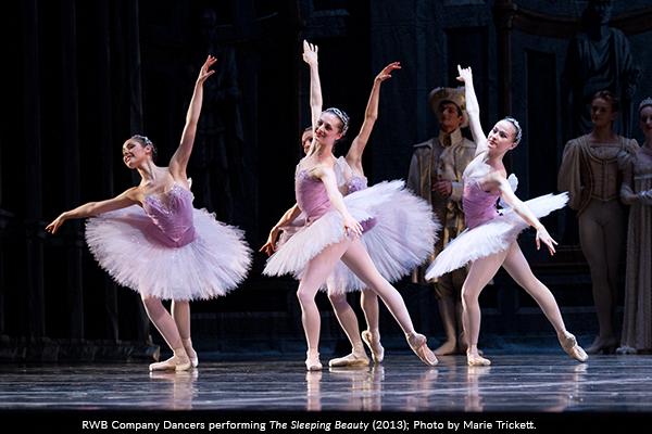 Image of RWB Company Dancers performing The Sleeping Beauty in 2013