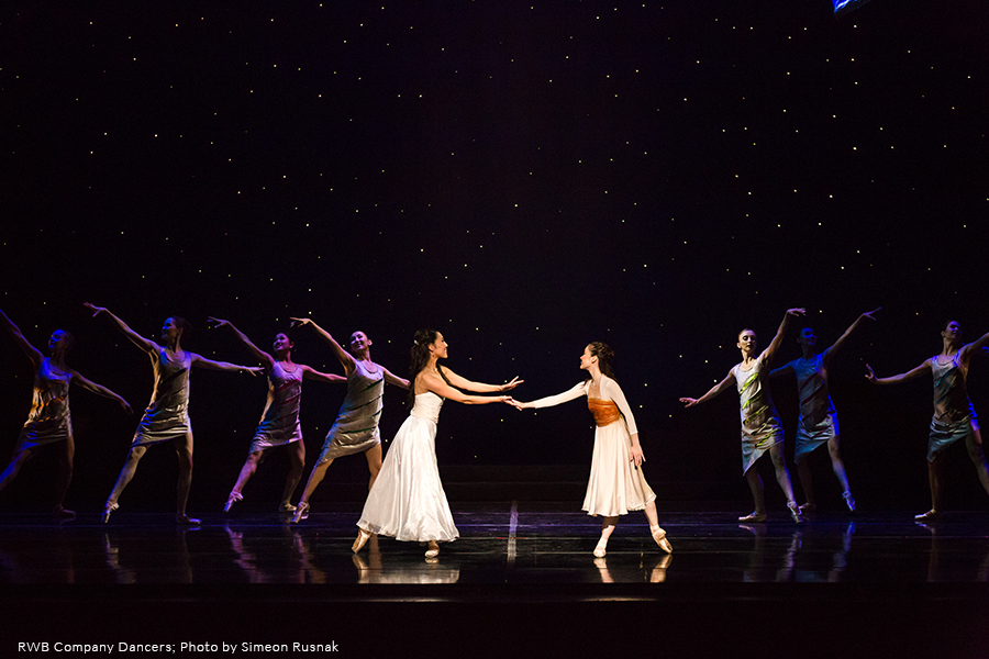 RWB Dancers in Twyla Tharp's the Princess and the Goblin