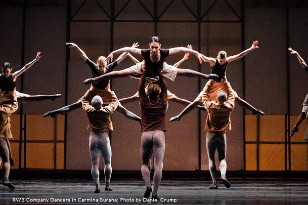Photo of RWB Company Dancers in Carmina Burana