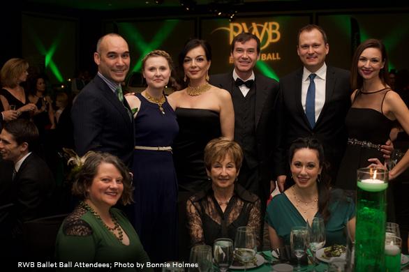 Photo of RWB Ballet Ball Attendees