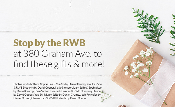 Stop by the RWBat 380 Graham Ave. to find these gifts & more!