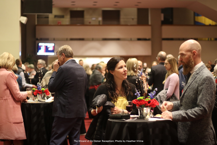 Image from The Wizard of Oz Donor Reception