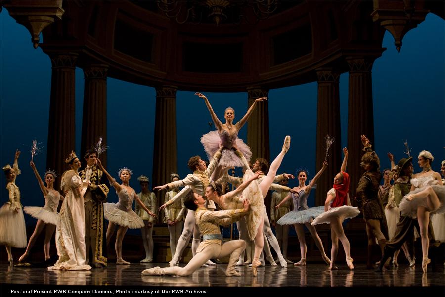 RWB Company dancers performing The Sleeping Beauty