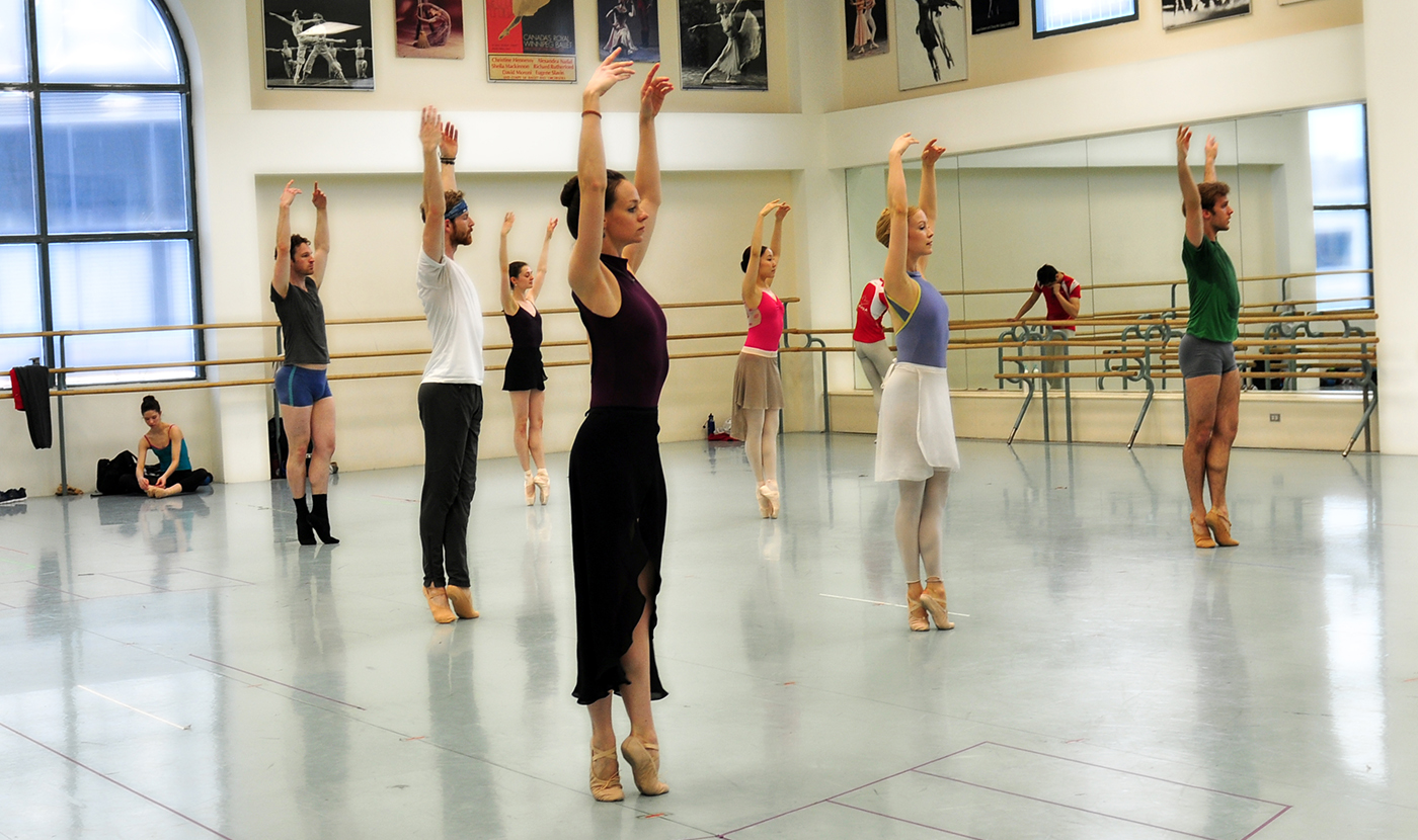 how to get into the royal ballet company