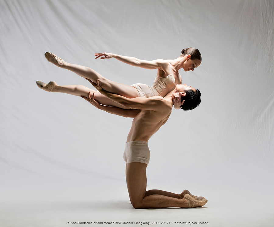 Photo of RWB Dancers JoAnn Sundermeier and Liang Xing