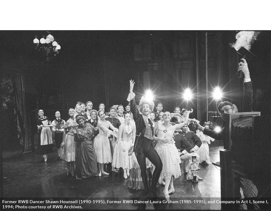 Nutcracker Photo from the RWB Archives