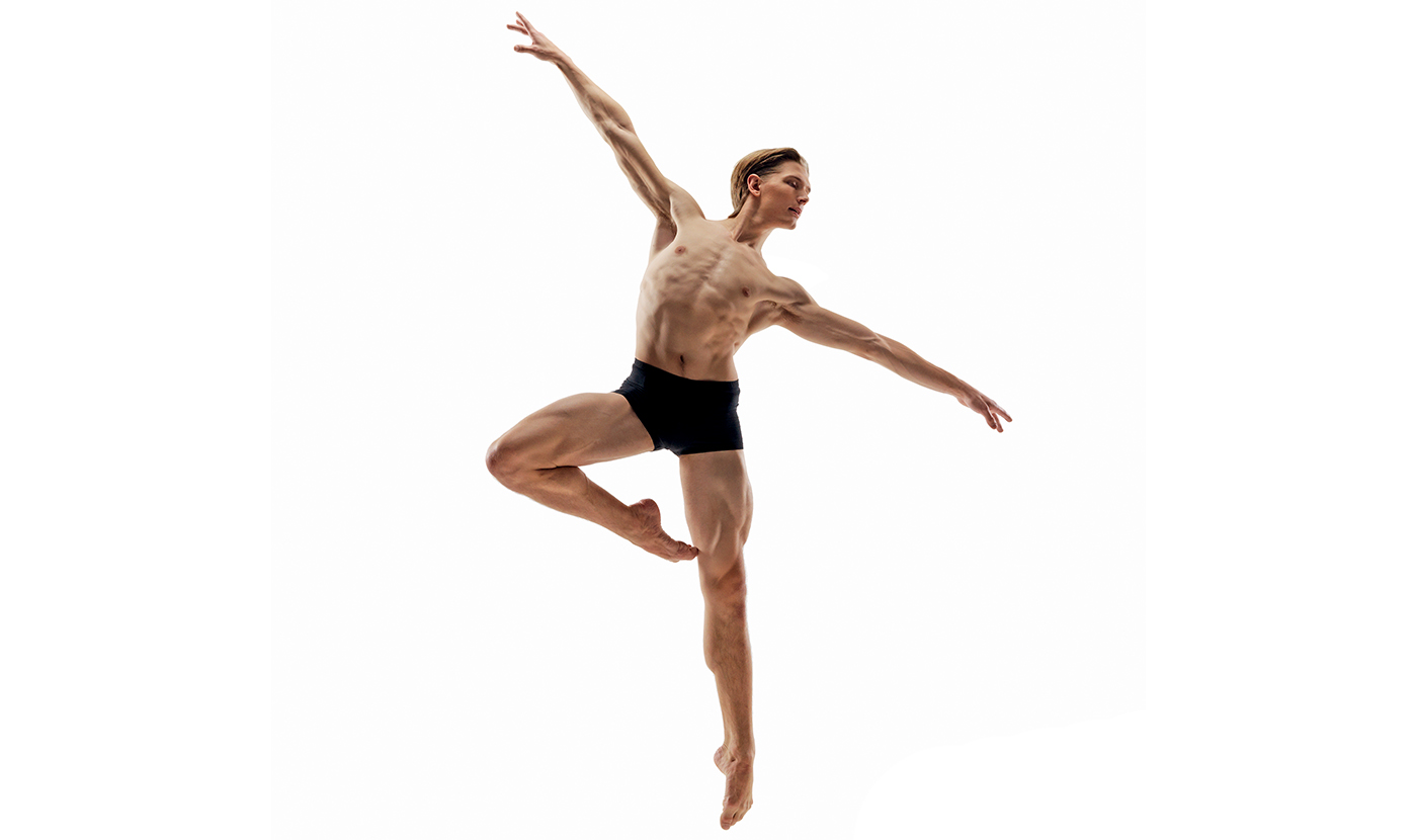 RWB Second Soloist Tristan Dobrowney PHOTO RWB Archives