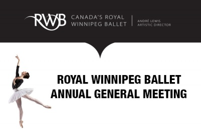 Royal Winnipeg Ballet's Annual General Meeting