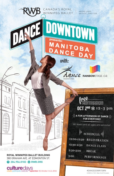 Dance Downtown Poster 2016