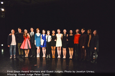 Group photo of First Steps Award Winners and Guest Judges