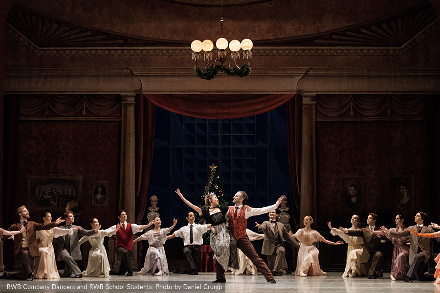Image of RWB Dancers in Nutcracker, 2017
