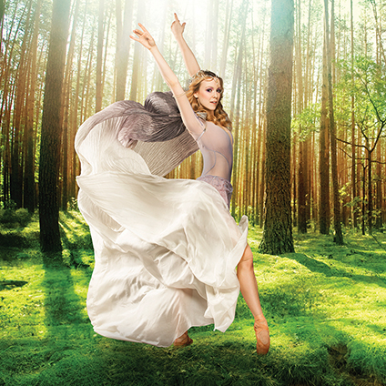 "The Faerie Queen<br><p style=""font-size:smaller;"">A Ballet Based on <i>A Midsummer Night's Dream</i></p>"