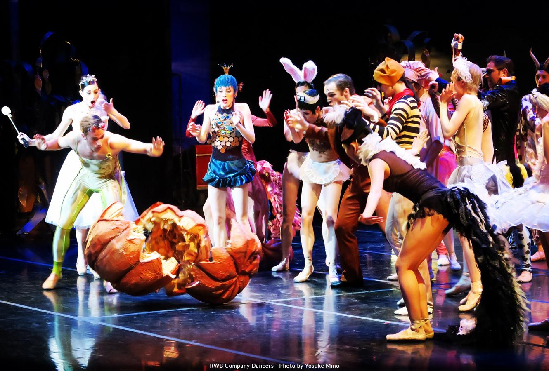RWB Company Dancers in A Cinderella Story